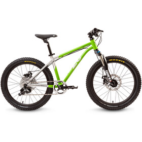 "Early Rider Hellion Trail MTB Hardtail 20"" Kids, brushed aluminum/lime"